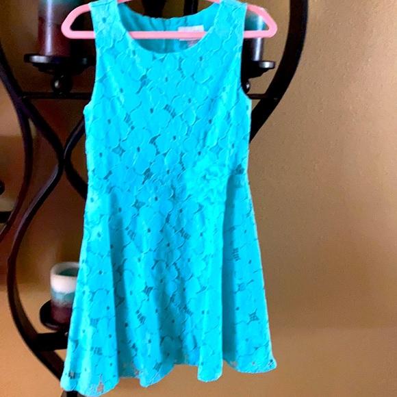 Teal summer dresss
